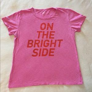 J. Crew Pink T-Shirt
